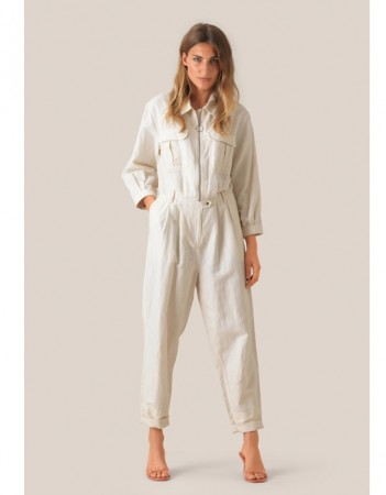 Second Female Eggnog Selene Ss Jumpsuit