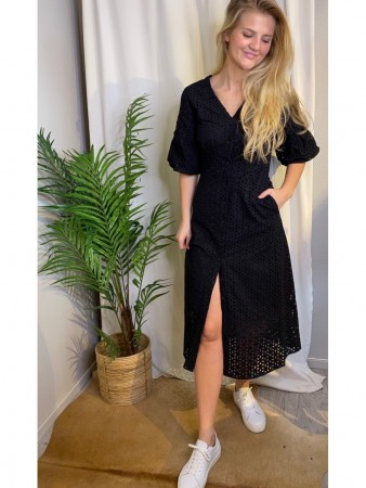 Second Female Black Milly Ss Dress