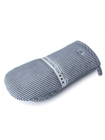 Lexington Navy Oxford Striped Mitten