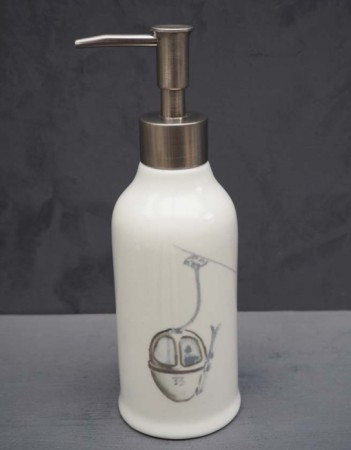 Chehoma Hvit - Soap Dispenser