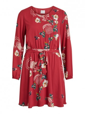 4364d33f4fe7 Vila Earth Red Vilucy Dress