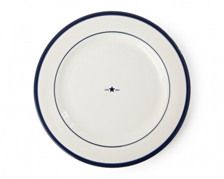 Lexington Blue Earthenware Dinner Plate