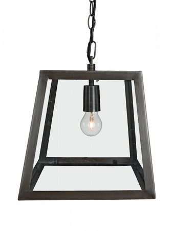 Artwood Antique Iron City Ceiling Lamp Iron Small - W:28 D:28  H:27