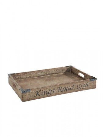 Artwood - Grey Kingsroad Tray Vintage Grey