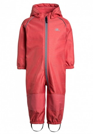 Name It Sunkist Coral Overall Nmfalfa Softshell Suit