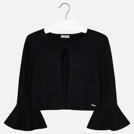 Mayoral Black Knitting Cardigan