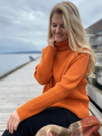 Holzweiler Orange Ekornes Knit Sweater - FORHÅNDSBESTILLING