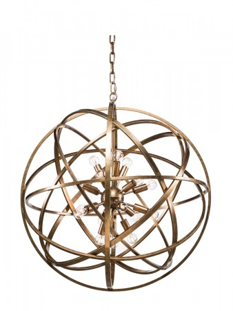 Artwood Nest Ceiling Lamp Brass 80