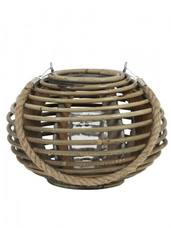 Light And Living ø26x18 Cm Tropez Rattan Natural