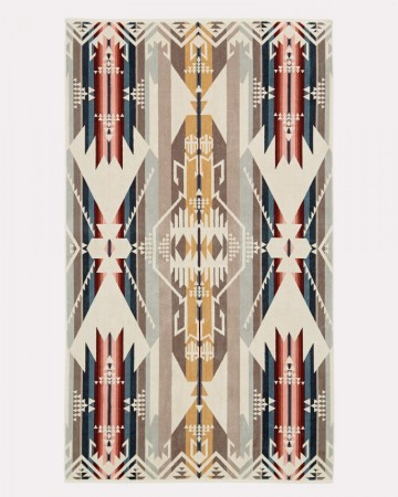 Pendleton - Tan White Sands Beach Towel