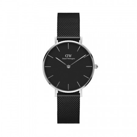 Daniel Wellington Silver Classic Ashfield Black