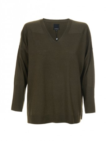 Ane Mone Loden Green Pullover