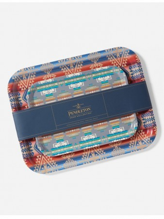 Pendleton - Jacquard Birchwood Tray Set Of 2