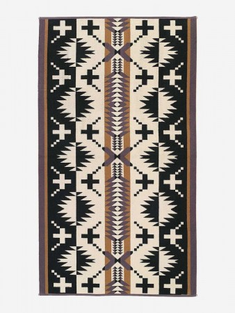 Pendleton - Black/white Spider Rock Beach Towel