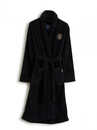 Lexington Black Lesley Robe