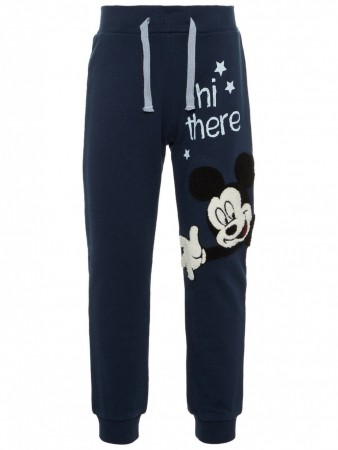Name It Dark Sapphire Nmmmickey Oak Swe Pants Unb Wdi