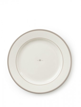Lexington Beige Earthenware Dinner Plate