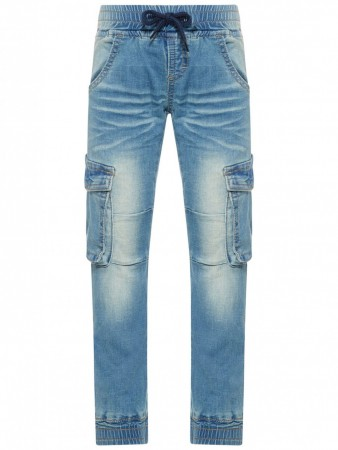 Name It Light Blue Denim Nmmromeo Dnmrumble 1006 Pant
