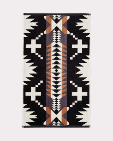 Pendleton - Black/white Spider Rock Hand Towel