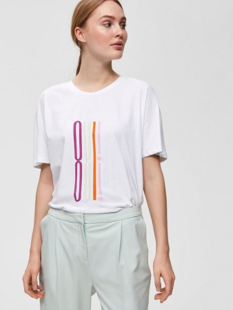Selected Femme Orchid Slfoui Ss Tee