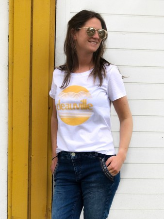Second Female White Deauville Tee