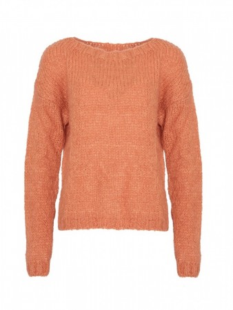 Noella Oransje Kala Knit Sweater