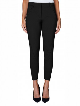 Fiveunits Black Dame Angelie 238 Zip Pants