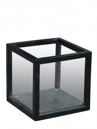 Artwood Lantern Square Black