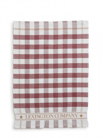 Lexington Red/white Interiør Holiday Terry Kitchen Towel