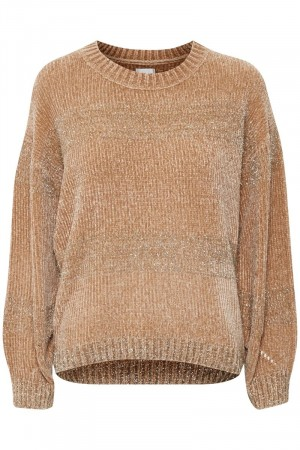 Culture Tawny Birch Tuki Jumper