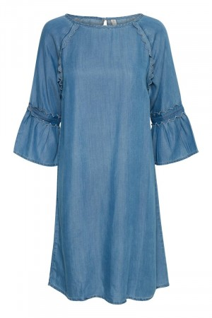Culture Blue Wash Dame Minet Dress