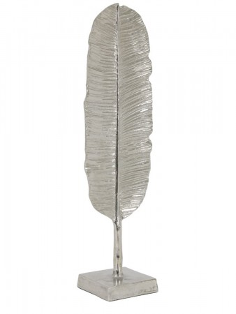 Light And Living Ornament 16*11*54 Cm Banana Nickel