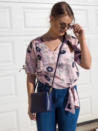 Ane Mone Pale Rose Blouse