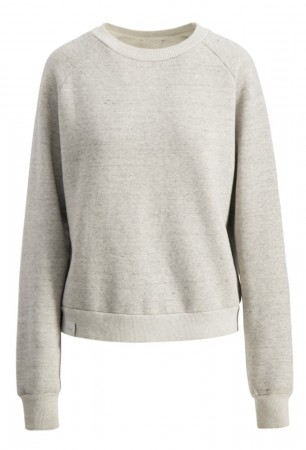 Camilla Pihl Grey Washed Mind Sweat Crew