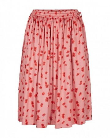 Msch B. Apricot Flower Anemone Nor Skirt Aop