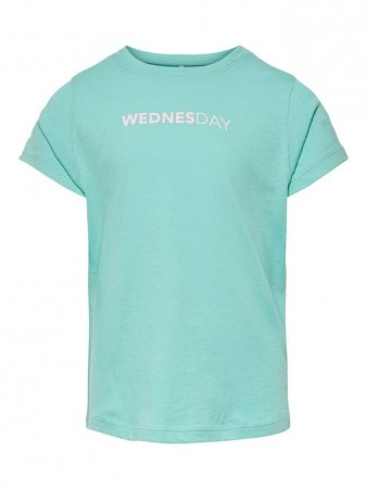 Only Pool Blue Konweekday S/s Top Box Jrs