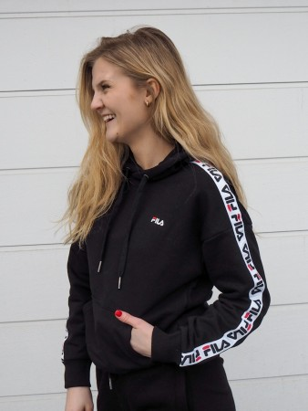 Fila Black Women Clara Hoody Sweat