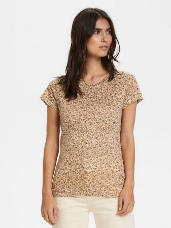 Part Two Flower Print, Butternut Brown Kassim Ts