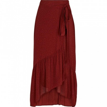 Basic Apparel Russet Red Alina Skirt