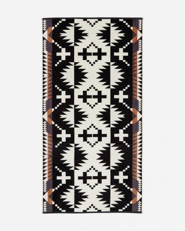 Pendleton - Spider Rock Black Jacquard Beach Towel