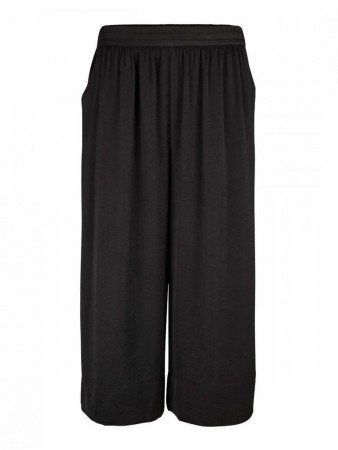 Second Female Black Minga Cropped Trousers