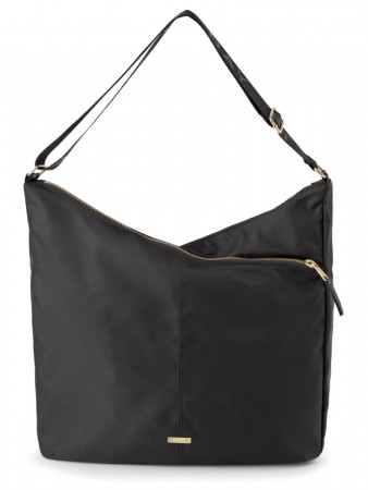 Et Black Day Double Zip Hobo