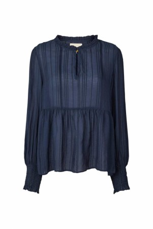 Lollys Laundry 29 Dusty Blue Maya Blouse