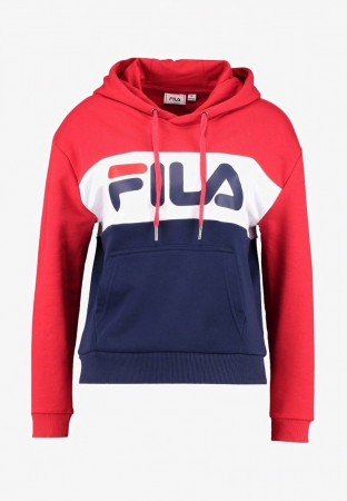 Fila Black Iris-true Red-bright White Women Lori Hoody