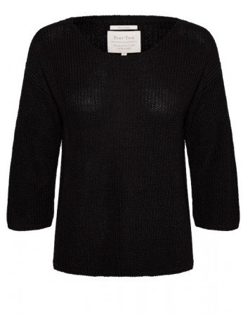 Part Two Black Pullover Cetronapw Pu
