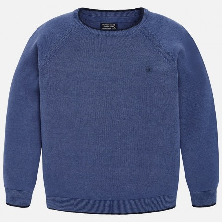 Mayoral Carbon Basic Cotton Sweater