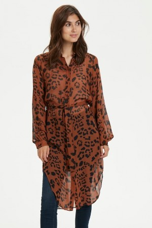 Part Two Leopard Print, Brown. Thandie Dr
