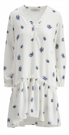 Camilla Pihl White Flower Slow Dress