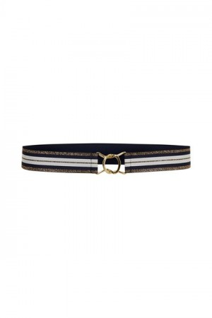 Culture Navy/white Chic Belt
