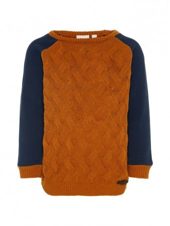Name It Cathay Spice Nmmsafti Ls Knit